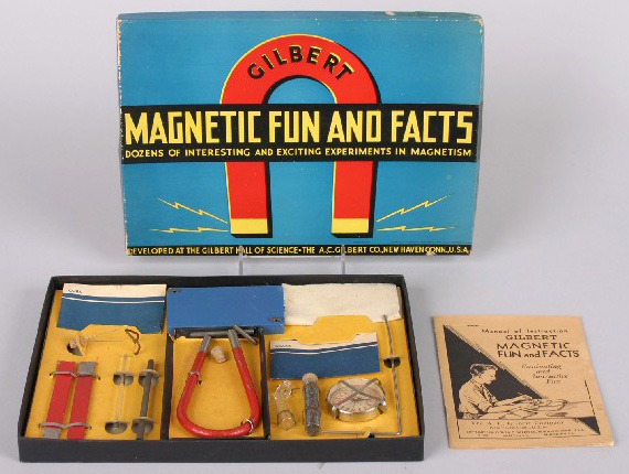 1936 No. 2 Magnetic Fun and Facts set