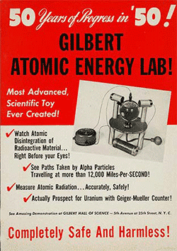 Atomic Energy Lab advertisement