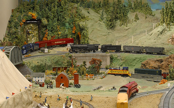 Mr. Gilbert's Railroad. Photo copyright and courtesy of the Eli Whitney Museum.